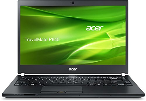 Acer TravelMate P645 (P645-SG-71FV) 35,56 cm (14 Zoll) Full HD Laptop (Intel Core i7-5500U, 8 GB RAM, 256 GB SSD, Nvidia GeForce 840M, Win 10 Pro) schwarz