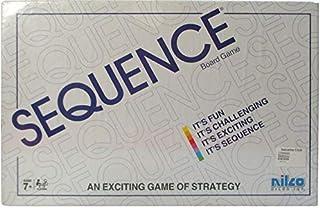 Nilco Sequence Board Game - White