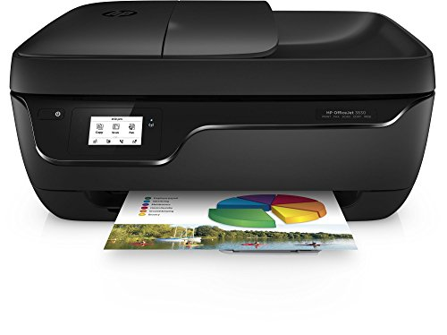 HP Officejet 3830 Multifunktionsgerät (Instant Ink, Drucker, Scanner, Kopierer, Fax, WLAN, Airprint)