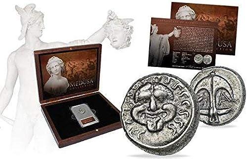 IMPACTO COLECCIONABLES Monedas ANTIGUAS - Dracma de Medusa en argent, Grecia Antigua