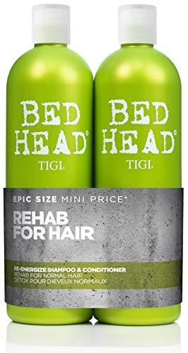 Bed Head by Tigi Urban Antidotes Re-Energize Shampoo und Conditioner, 750ml, 2Stück