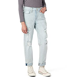 Signature by Levi Strauss & Co. Gold Label Juniors Mid Rise Boyfriend Jeans