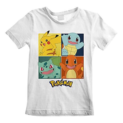 Terminal Pokemon: Squares (T-Shirt voor kinderen 12-13 jaar) Officiële merchandising