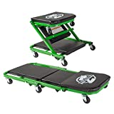 Pro-LifT C-2036DG Black/Green 300 Lbs Mechanic Creeper