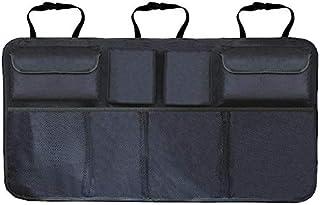 Car Trunk Organizer Adjustable Backseat Storage Bag Net High Capacity Multi-use Oxford Automobile Seat Back Organizers Uni...