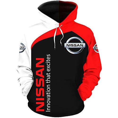 Gyulyaydin Capucha Hombre Y Mujer por Ni.S_Sa.N-S 3D Completo Impresión Cárdigan Delgado Casual Poliéster Sweatshirt Deporte/B/M