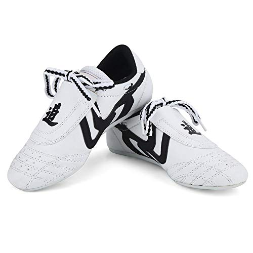 Dilwe Taekwondo schoenen, 10 maten, zachte rubberzolen, Martial Arts sneakers voor mannen Kong Fu Taichi