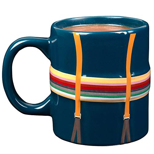 Doctor Who Keramik-Kaffeetasse – 13th Doctor Shirt und Strapsen-Design – 325 ml