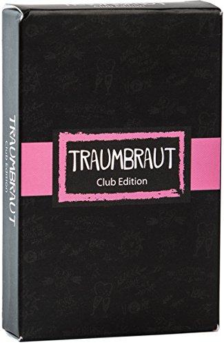JGA Spiel - Traumbraut Club Edition mit 55 witzigen Aufgaben für die Braut und Team - Lustiges Spiel für den Junggesellenabschied für Frauen