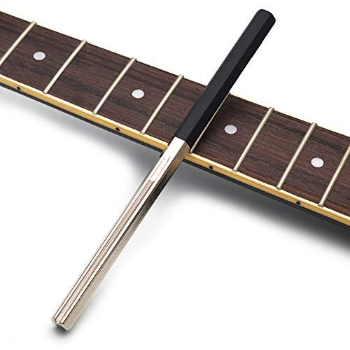 Inicio Guitar Fret Crowning File Dressing-Datei mit 3 Größenkanten Professionelle Gitarrenbauer-Werkzeuge Saitengitarrenreparatur- und Gitarrenbauer-Werkzeuge