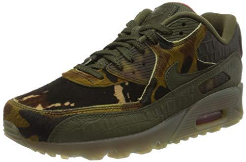 Nike Herren CU0675 Laufschuh, Cargo Khaki Cargo Khaki University Red, 41 EU