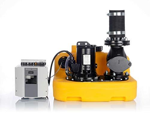 Jung Fäkalienhebeanlage Hebeanlage compli 400 400 V mit montierter Rückschlagklappe R80 JP09322