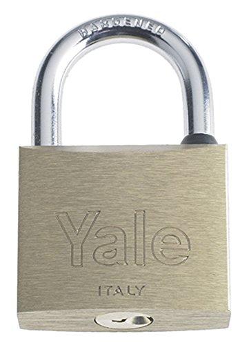 Yale Y1100050080 hangslot standaard 110 50 mm, zilver