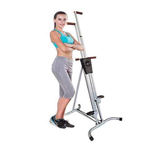 Macchina rampicante di esercizio piegante verticale dello scalatore, scalatore dell'attrezzatura di esercizio, per la palestra domestica, esercizio passo passo della scala per l'addestratore del corpo