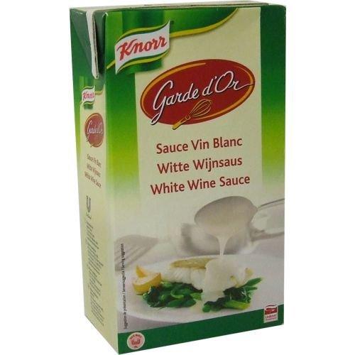 Knorr Garde d'Or Weißwein Sauce 1l (White Wine Sauce)