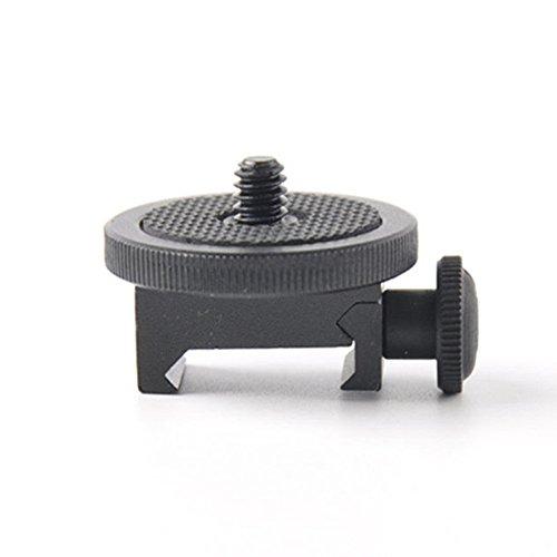 SOLOMARK Gun Adapter for Camera Screw (1/4-Inch) - Camera Gun Mount Adapter Shotgun Hunting (Gun Adapter for Camera)
