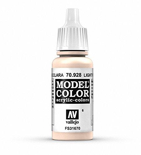 Vallejo Model Color Pintura Acrílica, Beige (Light Flesh), 17 ml