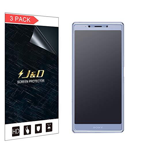 J&D Compatibile per 3-Pack Xperia L3 Protezione Schermo, [Anti-riflesso] [Anti-Impronte] [Non Piena Copertura] Premium Matte Pellicola Protettiva per Sony Xperia L3 - [Non per Xperia L2/Xperia L1]