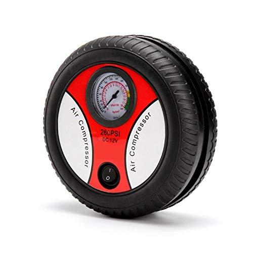 Inflador de neumáticos para automóviles Bomba de aire del coche 12V portátil de aire portátil de neumáticos inflador eléctrico automático for las bicicletas de coches Motocicletas