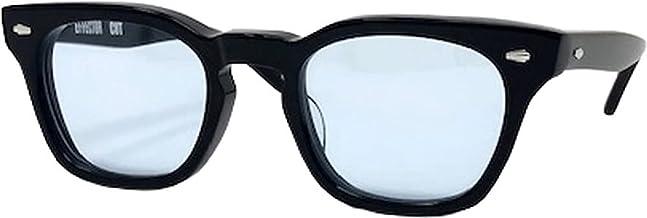 EFFECTOR サングラス 伊達眼鏡 メガネ CUT-BK-BLUE【日本製】 ブラック メンズ レディース ファッション おしゃれ シンプル めがね工房ハトヤオリジナルメガネ拭き付【正規品】
