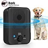 Bark Control Device, 2020 Upgraded Mini Bark Control Device, Outdoor Anti Barking Ultrasonic Dog Bark Control with 3 Ultrasonic Frequency Levels, Sonic Bark Deterrents Silencer Stop Barking