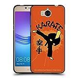 Head Case Designs Officiel Cobra Kai Karate Logo Graphiques 2 Coque Noir en Gel Doux Compatible avec...