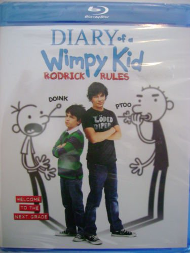 Diary of a Wimpy Kid Rodrick Rules [Blu-ray]