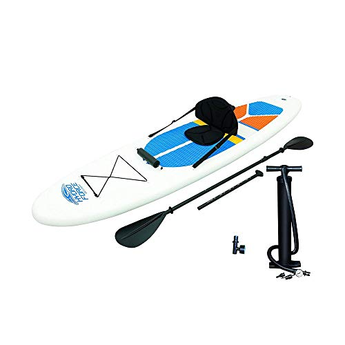 in budget affordable Bestway Hydro-Force inflatable SUP board, kayak, measuring device