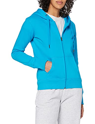 Stedman Apparel - Active Sweatjacket/ST5710 - Sweat-Shirt - À Capuche - Manches Longues - Femme - Bleu (Blue) - 44