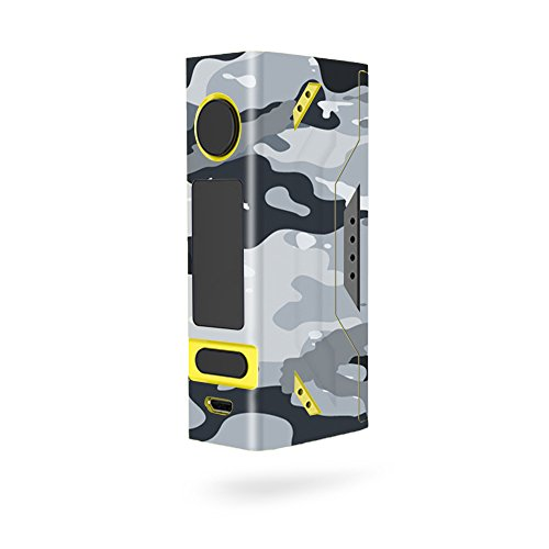 MightySkins Skin Compatible with Smoant Battlestar Mini 80W - Gray Camouflage | Protective, Durable, and Unique Vinyl Decal wrap Cover | Easy to Apply, Remove, and Change Styles | Made in The USA
