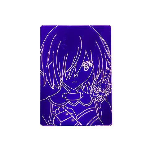 Anime 3D Light Fate Grand Mash para decoração de quarto, presente de aniversário, mangá Fate Stay Night Gilgamesh LED Night Lamp