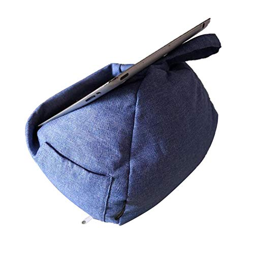 LAMEIDA Conical Portable Tablet Cushion E-Reader (e-book) Stand Soft Book Holder Multifunctional Pillow Stand Bean Bag for Kindle Phone Tablet