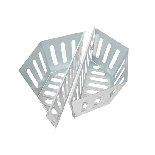 Stanbroil Stainless Steel Charcoal Basket Holders - BBQ Grilling Accessories for Weber Kettle Grill, 2 pcs