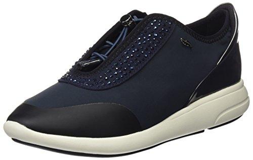 Geox D Ophira E, Zapatillas Mujer, Azul (Dk Navy), 39.5 EU