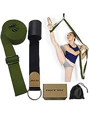 XEMZ Elastyczna opaska na nogi – trener elastyczności drzwi, poprawia rozciąganie nóg pasek do rozciągania stóp, idealny sprzęt domowy do tańca baletowego, ćwiczeń taekwondo, gimnastyki treningu rozciągającego pasek