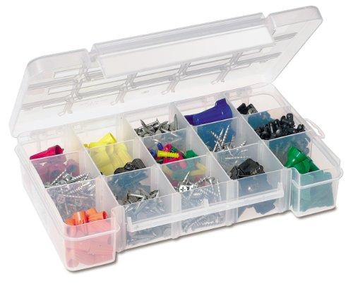 Akro-Mils 5805 Plastic Parts Storage Case For Hardware & Craft, Medium