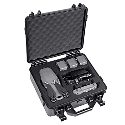 Smatree Hard Case for DJI Mavic 2 Pro or DJI Mavic 2 Zoom (Drone and Accessories Not Included, Not Suitable for Mavic Air 2) from