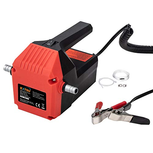 KATSU - Bomba extractora de aceite para motor de coche (12 V, 60 W)