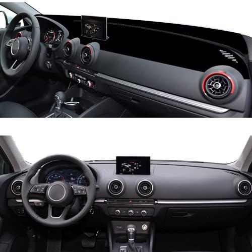 Cubierta interior del salpicadero del coche para Audi A3 2014-2020 alfombrilla para salpicadero de coche, alfombrilla para protección solar, alfombrilla para salpicadero 2019, 2018, 2017, 2016, 2015