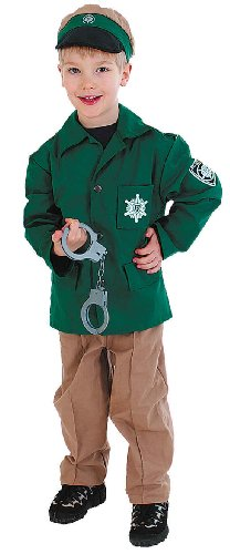 grüne polizeiuniform