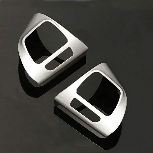 Alamor Anneau en Acier Chromé Housse pour Volkswagen VW Golf Mk6 Jetta Passat B7 CC