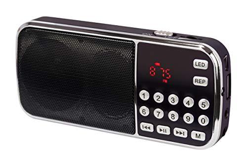 DynaVox 207240 FMP3 Bass Boost MP3-Radio schwarz