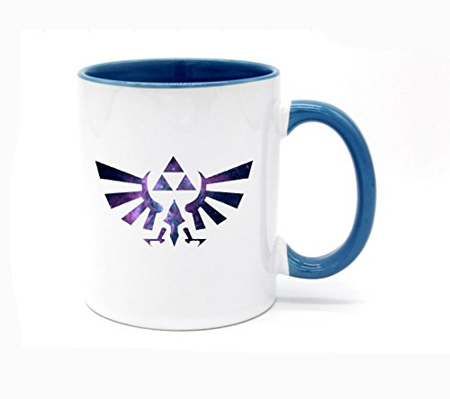 White+Blue - The Legend of Zelda Coffee Mug or Tea Cup 11 Ounce