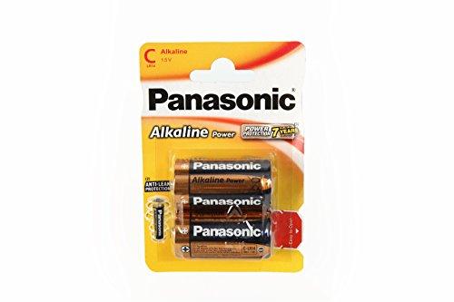 Panasonic Alcaline Power C Piles 2 Pièces