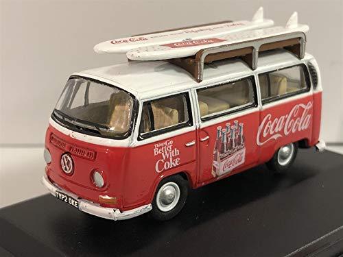 VW T2, Coca-Cola, 0, Modellauto, Fertigmodell, Oxford 1:76