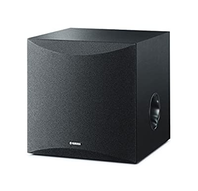 Yamaha NSSW050 Powered Subwoofer with 8 Driver - Black from YAMA6