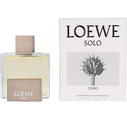 Solo Cedro Pour Homme Natural Spray Loewe Eau de Toilette 100ml/3.4oz Hombre