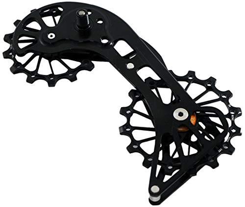 KCNC AL7075 Rear Derailleur Jockey Wheel Pulley Bolts Shimano Black Road