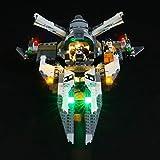 BRIKSMAX Kit de Iluminación Led para Lego Star Wars Interceptor Tie Black Ace,Compatible con Ladrillos de Construcción Lego Modelo 75242, Juego de Legos no Incluido