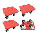 JIECHENG 4 PCS Moving Dolly Heavy Duty with Universal Wheel,for Furniture Appliance Moving Slider,350 lbs Load Capacity